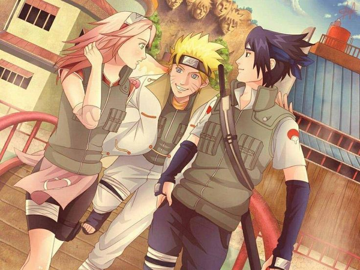Team 7!! Naruto, Sasuke, Sakura . All grown up! | Naruto | Pinterest ...
