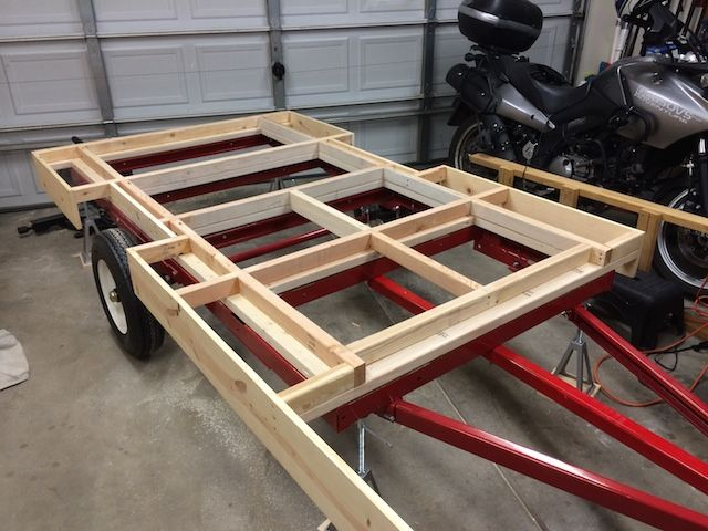 Harbor Freight Utility Cart >> Teardrops n Tiny Travel Trailers • View topic - 5X10 on a ...