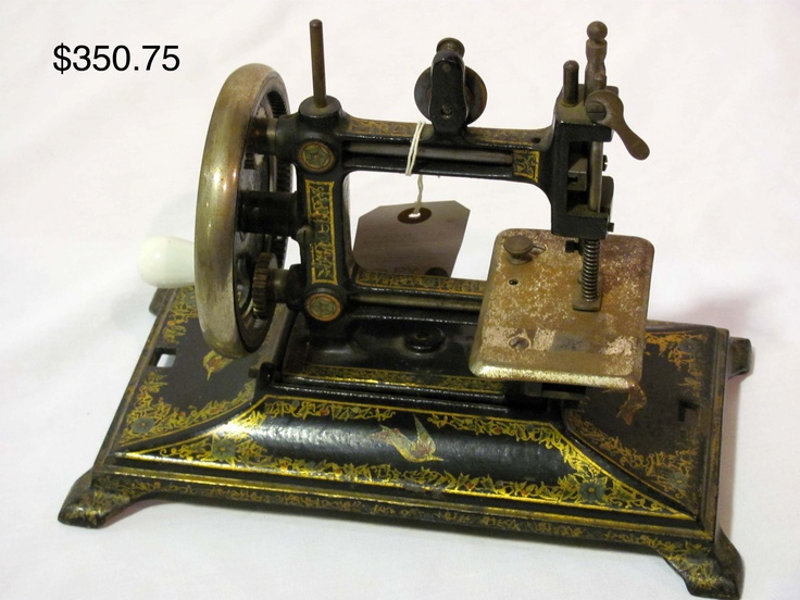 antique doll sewing machine