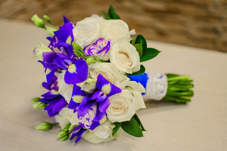 Как собрать красивый свадебный БУКЕТ для НЕВЕСТЫ своими руками  мастер к...