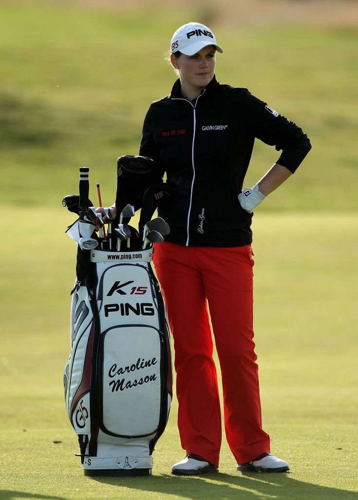 Caroline Masson Photos Photos - Caroline Masson of Germany waits on the 14th hole during the second round of the 2011 Ricoh Women's British Open at Carnoustie on July 29, 2011 in Carnoustie, Scotland. - Ricoh Women's British Open - Day Two