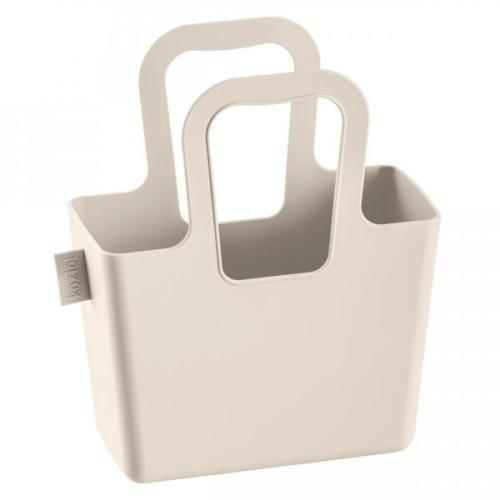 Koziol Taschelini Plastic Tote Taupe (ebay)