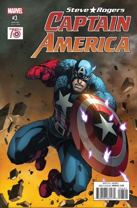 Captain America: Steve Rogers # 3 1 in 50 madeuira incentive