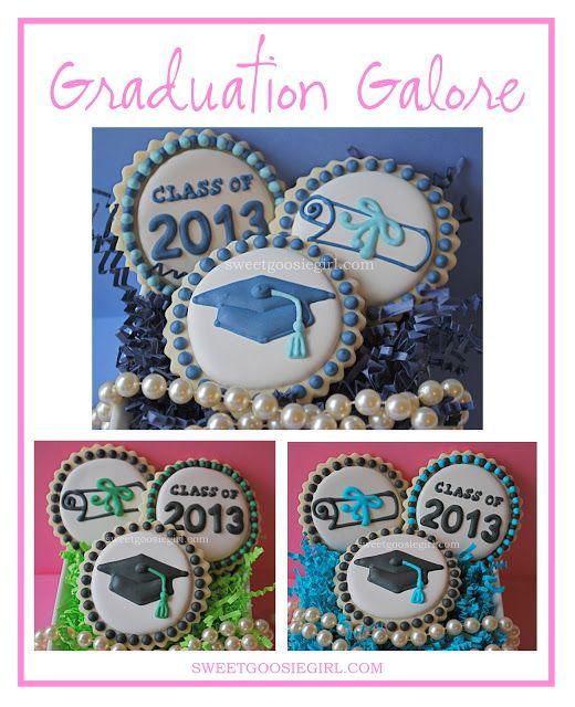 Sweet Goosie Girl: Graduation Cookies