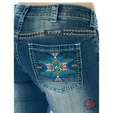 [JBOLDZ] bold aztec women's jeans