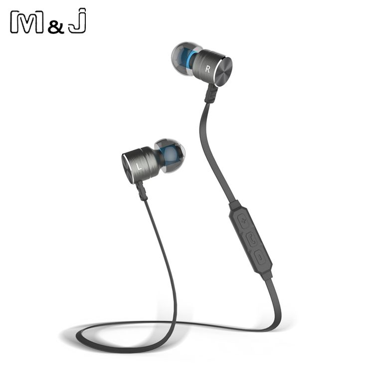 13.49$  Buy now - http://alioza.shopchina.info/go.php?t=32751494335 - M&J M325 Magnet Wireless Bluetooth Earphone Stereo Sport In Ear Wireless Earbuds with Mic For Iphone Xiaomi Piston 3 Auriculares  #buychinaproducts