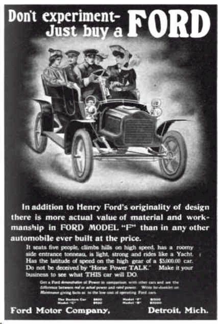 1905 Ford Advertisement  sc 1 st  Pinterest & 384 best Ford Car Ads images on Pinterest | Vintage cars Car and ... markmcfarlin.com
