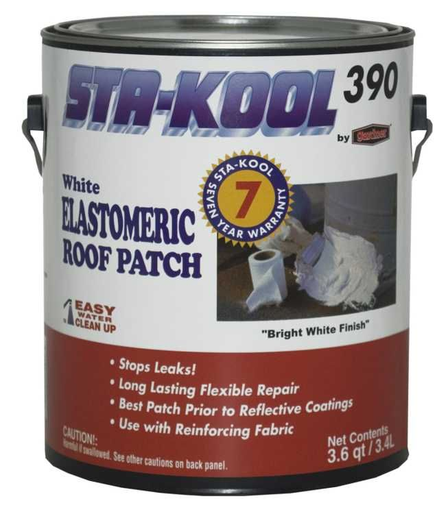 Gardner Gibson Sk3901 Elastomeric Roof Patch White 9 Gal At Sutherlands Roof Patch Roof Coating Patches