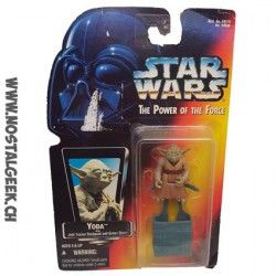 Star Wars Han The Power of The Force Yoda Hasbro Kenner