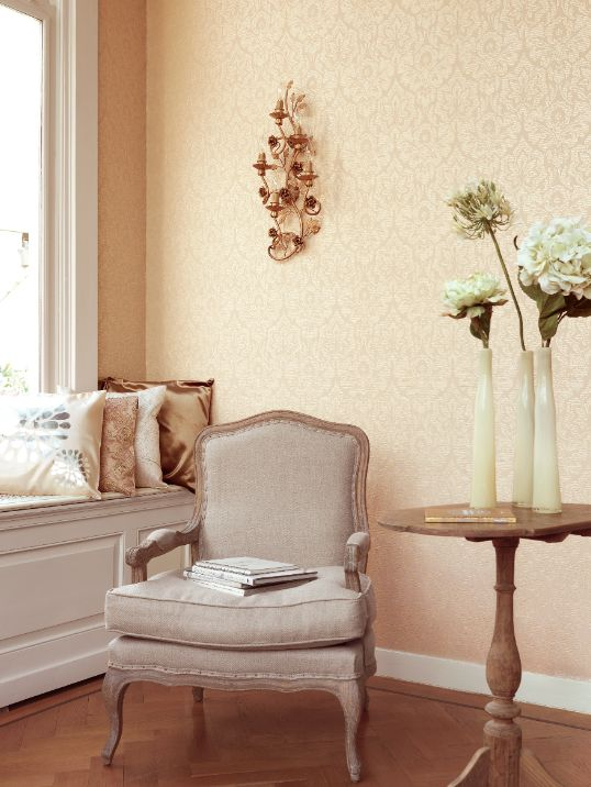 Romantic wallpaper and style for your home decor