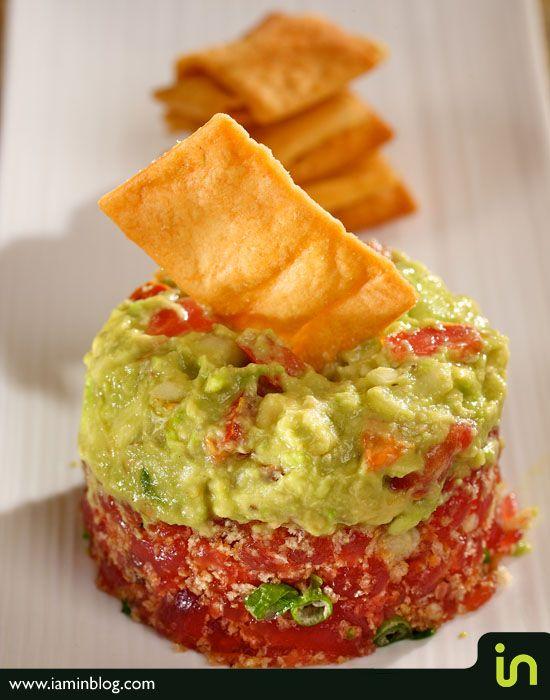Tuna Tartare Avocado Recipe | Tuna tartare with avocado { Photo: Vadim Daniel, Montreal Photographer ...