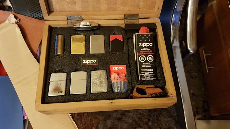 My Zippo collection