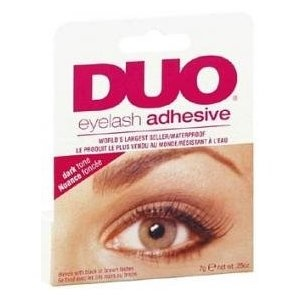 Dark tone Duo eye lash glue for the Glam nites when you want to put on some extra Glam Lashes kittens. Always in my kits- xo Meow