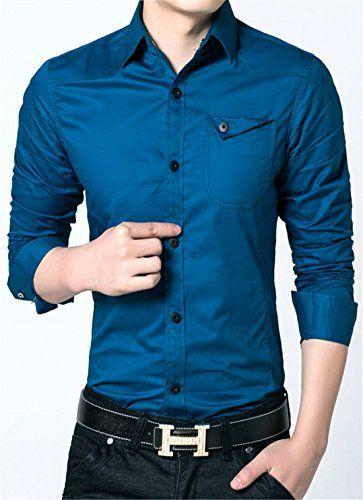 APTRO Men's Cotton Blend Business Slim Long Sleeve Dress Shirt #12 Light Blue US XS(Tag L) APTRO http://www.amazon.com/dp/B0195WCD8K/ref=cm_sw_r_pi_dp_d-JAwb18EGJZH