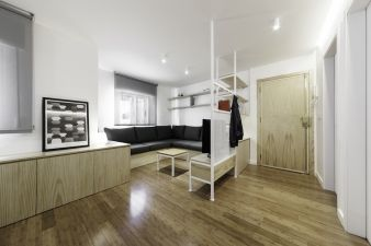 Thanks to clever use of space, this apartment is both spacious and practical