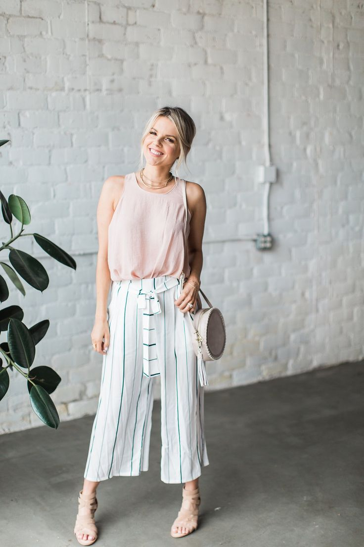 Stripes and Blush - Trend Alert | Ali Fedotowsky