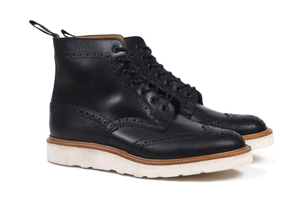 Tricker's for Present Two-Tone Brogue Boot: Approx. $574.00. Not a huge fan of Brogues but I would definitely cop these.