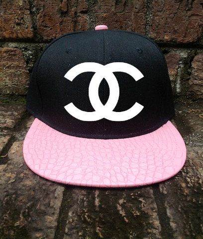 CC Pink Alligaor Snapback Vintage Customized by TheCoutumeShop, $30.00