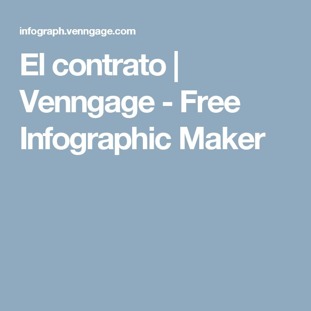 El contrato | Venngage - Free Infographic Maker