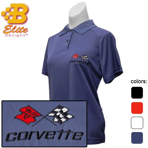 This ladies C3 Corvette ladies polo shirt is manufactured to perform. With its' breakthrough features of moisture wicking and anti-microbial technology as well as the easy care of 100% polyester, it is a favorite among all other Corvette shirts for women. This performance polo shirt is available in sizes Small, Medium, Large, X Large, and …