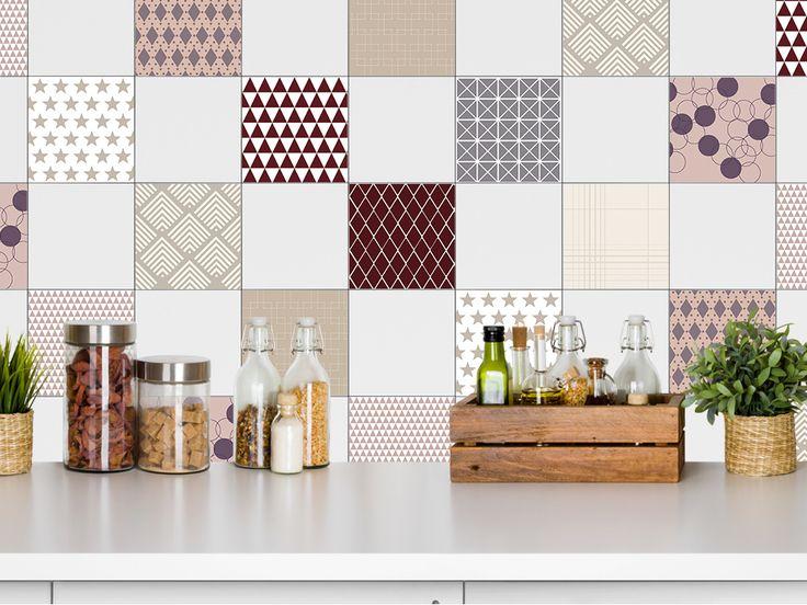 20 besten Fliesenaufkleber Bilder auf Pinterest - küche renovieren folie