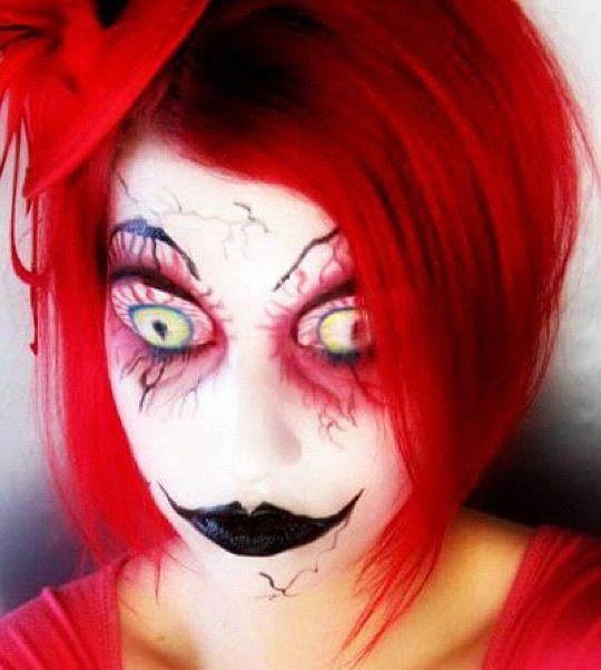 Crazy Halloween makeup #eyecandycosmetics
