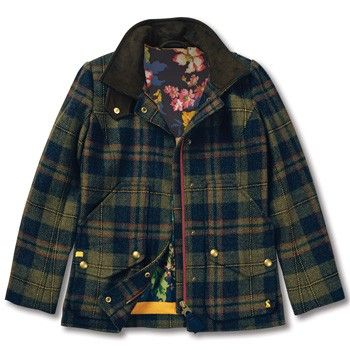 Joules English Tweed Field Coat