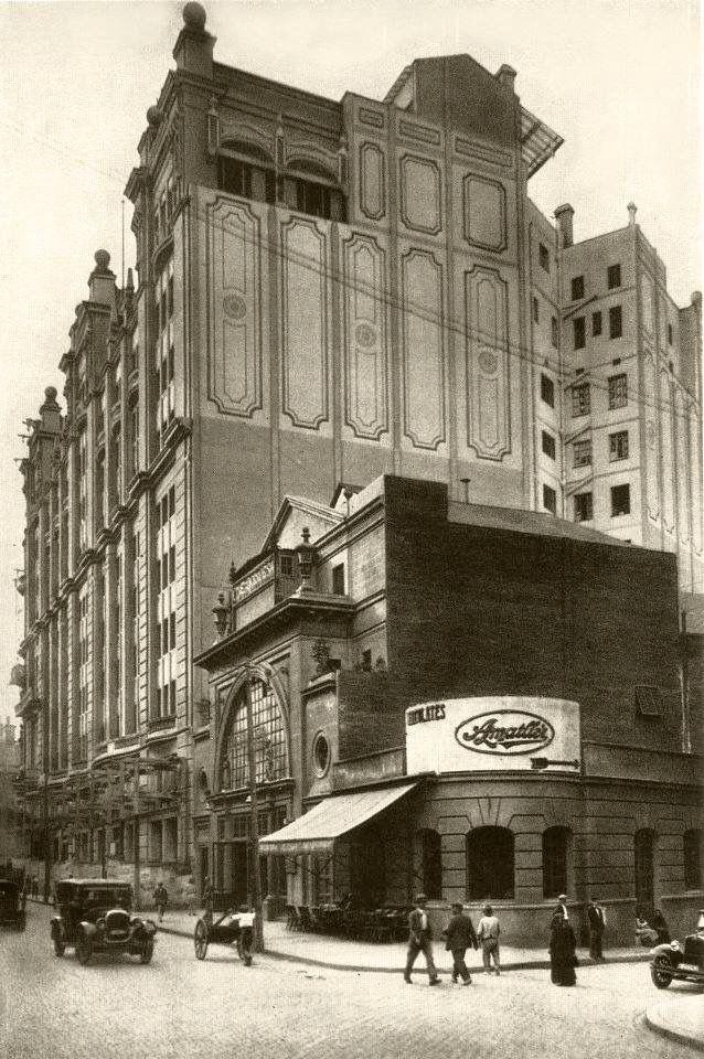 Barcelona, El desaparegut cinema Princesa (1923-1970) estava situat a la Via Laietana, núm 14... anys 30