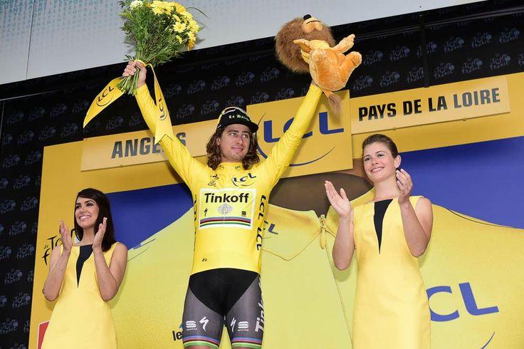 Tour de France 2016 - 04/07/2016 - Etape 3 - Granville/ Angers (223,5 km) - SAGAN Peter (TINKOFF) conserve le maillot Jaune © ASO/A.Broadway