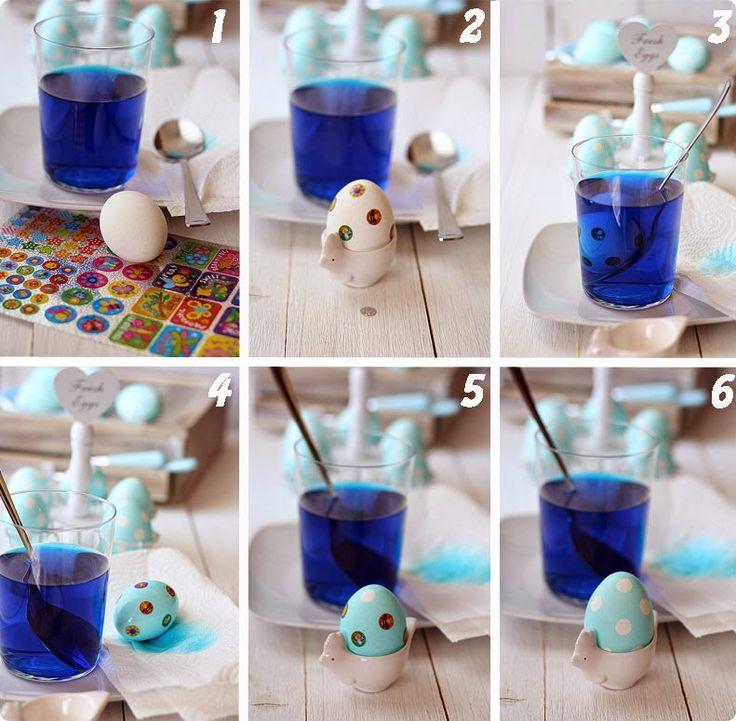 Πασχαλινά αυγά με πουά διακόσμηση! | Φτιάξτο μόνος σου - Κατασκευές DIY - Do it yourself