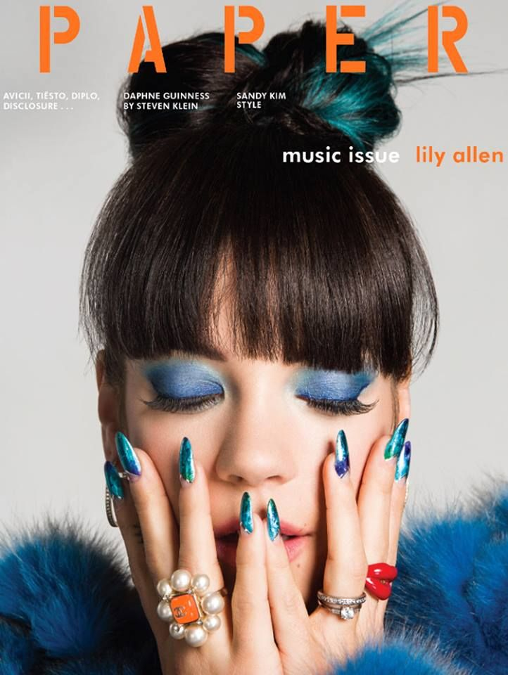 Lily Allen for Paper Magazine's Summer 2014 edition