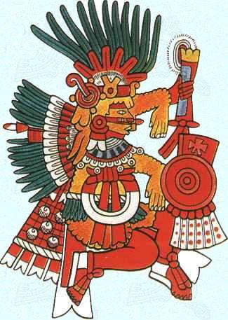 """Xipe Totec """"Notre seigneur l'écorché"""", est le dieu du renouveau de la nature et de la pluie nocturne bienfaisante. Les cérémonies qui lui ét..."""