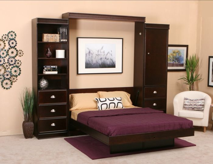 1000 ideas about murphy betten auf pinterest klappbett. Black Bedroom Furniture Sets. Home Design Ideas