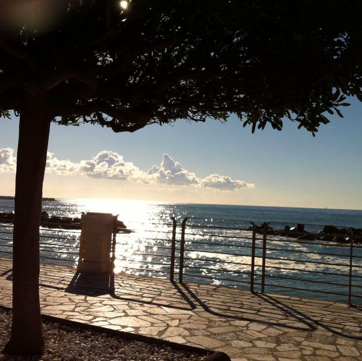 Passeggiata mare, Chiavari (Cristina)