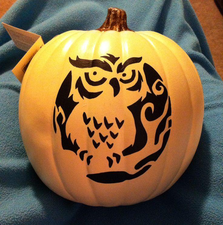 The 25 best owl pumpkin stencil ideas on pinterest owl for Spooky owl pumpkin stencil