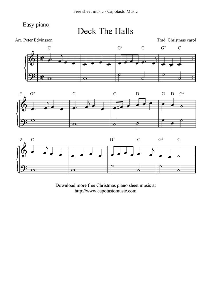 It's just a picture of Slobbery Free Printable Sheet Music Piano