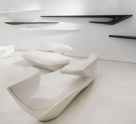 Zaha Hadid Design Gallery Furniture Pinterest Zaha