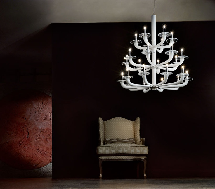 #Chandelier made of original Murano #Glass, beautifully created by DeMajoilluminazione.com