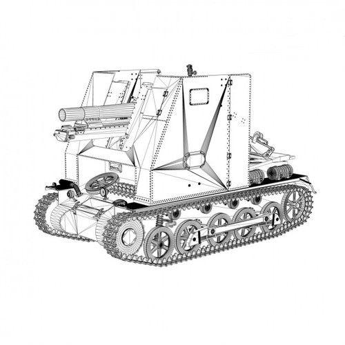 96 best 15 cm sIG 33 (sf) auf Panzerkampfwagen l Ausf B