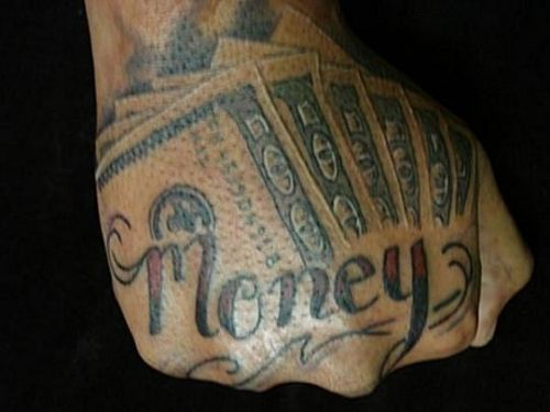 15 best images about money tattoos on pinterest money on back and dollar tattoo. Black Bedroom Furniture Sets. Home Design Ideas
