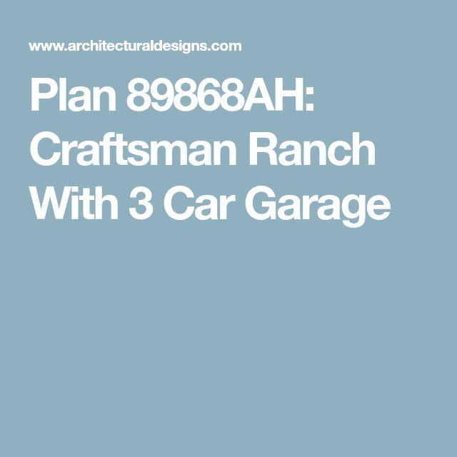 Picturesque Garage Apartment 43023pf: Best 25+ 3 Car Garage Plans Ideas On Pinterest