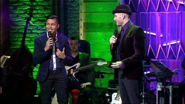 AZ ÉNEK ISKOLÁJA / Berki Artúr és Takács Nikolas - Feeling Good / tv2.hu