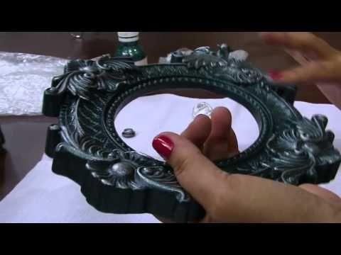 Mulher.com - 18/01/2016 - Pintura em peça de gesso cerâmica - Valeria Maradini - YouTube