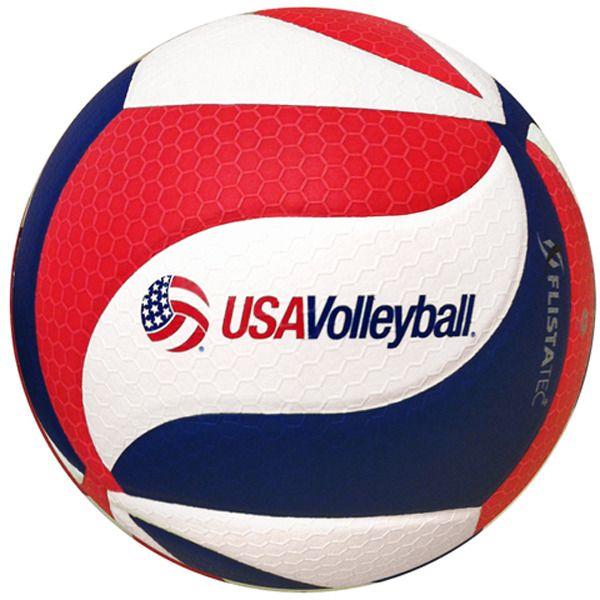 NEW! Molten Flistatec USAV V5M5000-3USA Volleyball. This is the Official Volleyball of USA Volleyball and the Official Volleyball of the 2014 Boys' Junior National Championships