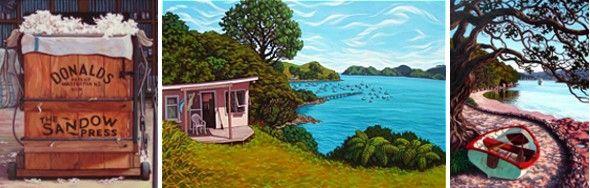 Rachel Olsen   Artists   New Zealand Paintings
