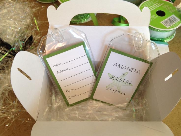 Bridal Shower Gift Destination Wedding : Destination wedding shower favors Wedding ideas Pinterest