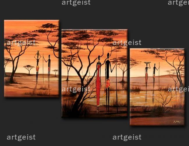 Wohnzimmer Bilder Modern Bimagode Afrikanische Realitt