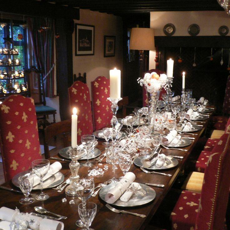 Christmas Table Settings Part - 41: 50 Stunning Christmas Table Settings