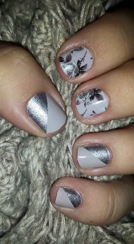 Timeless and Champagne Toast match perfectly!  http://www.aubreymueller.jamberrynails.net/shop