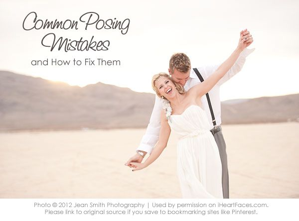Learn great photography posing tips from Jean Smith Photography on @iHeartFaces